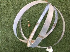 Decorative-Globe-Handcrafted-Metal-Wine-Barrel-Band