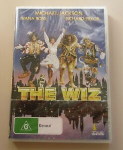 DVD-The-Wiz-Michael-Jackson-Diana-Ross-Richard-Pryor-New-amp-Sealed