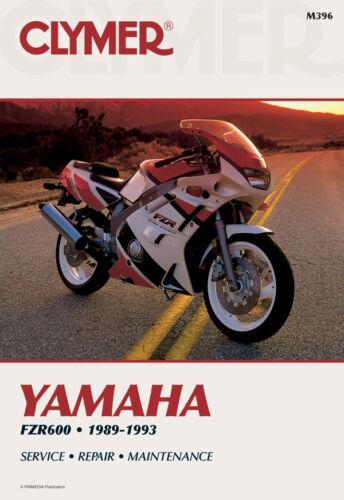 93 92 91 Clymer Repair Service Shop Manual Vintage Yamaha FZR600 R 1989 90