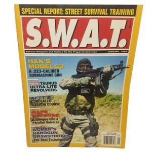 1999-SWAT-Magazine-Street-Survival-Training-Special-Weapons-amp-Tactics-Guns-Book