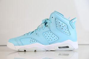 60969c321557f7 Nike Air Jordan Retro 6 Pantone Still Blue GG GS 543390-407 4-9 vi 1 ...