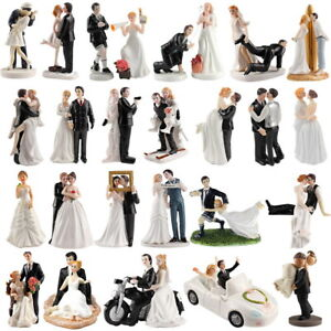 Bride Groom Wedding Cake Toppers Party Decoration Figurine Keepsake Ebay
