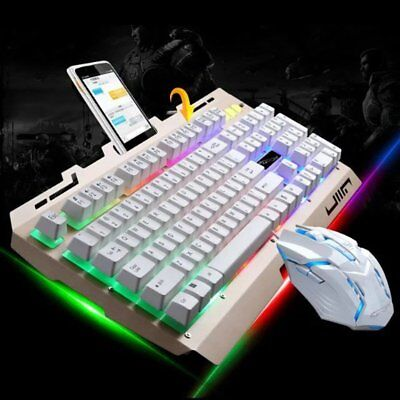 Gaming Keyboard Mouse Combo Backlight for PS4, PS3 Xbox One and Xbox 360  Rainbow | eBay