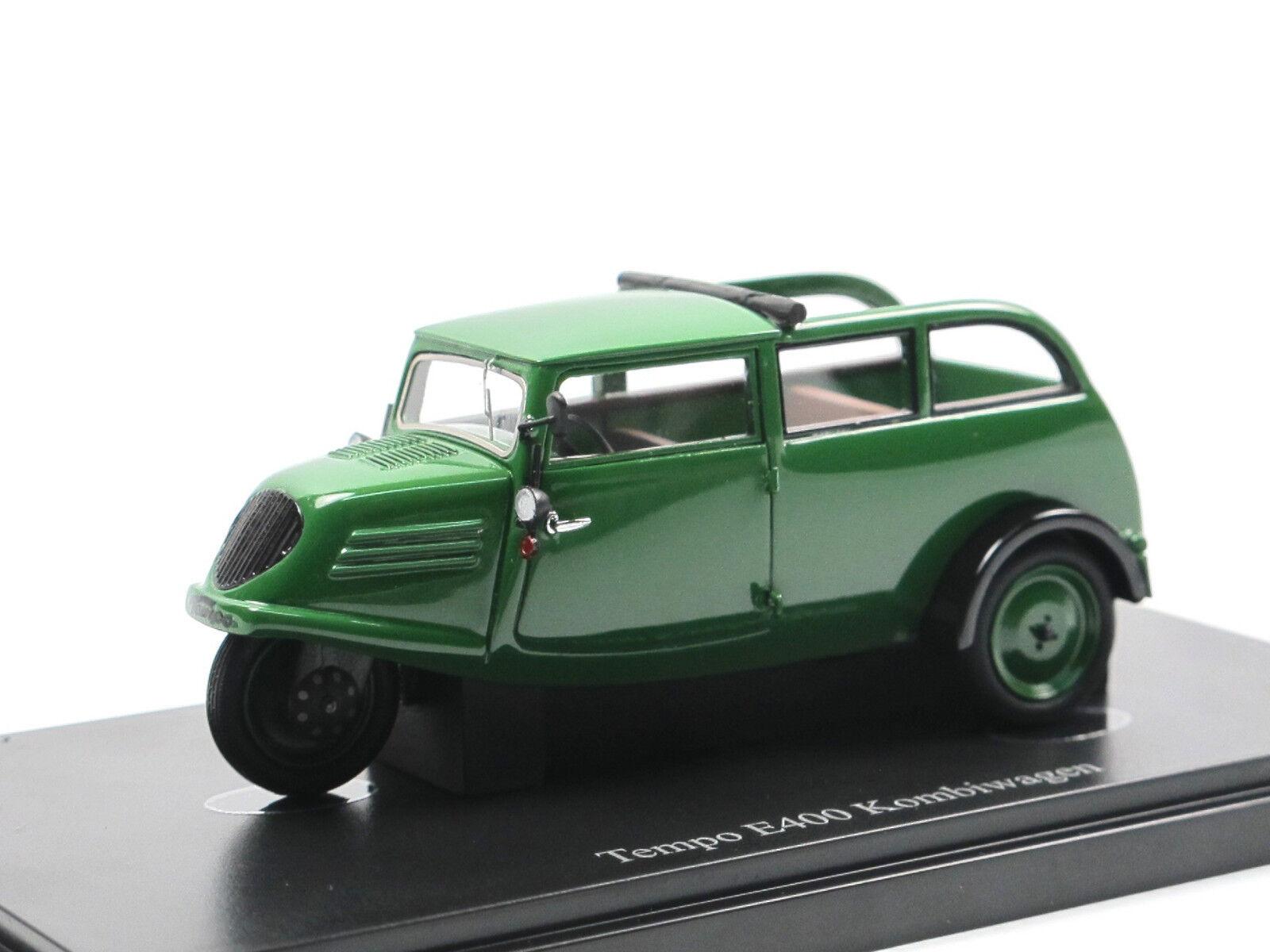 Autocult 02008-ritmo 1936 e400 STATION WAGON carrello carrello combinazione verde 1 43