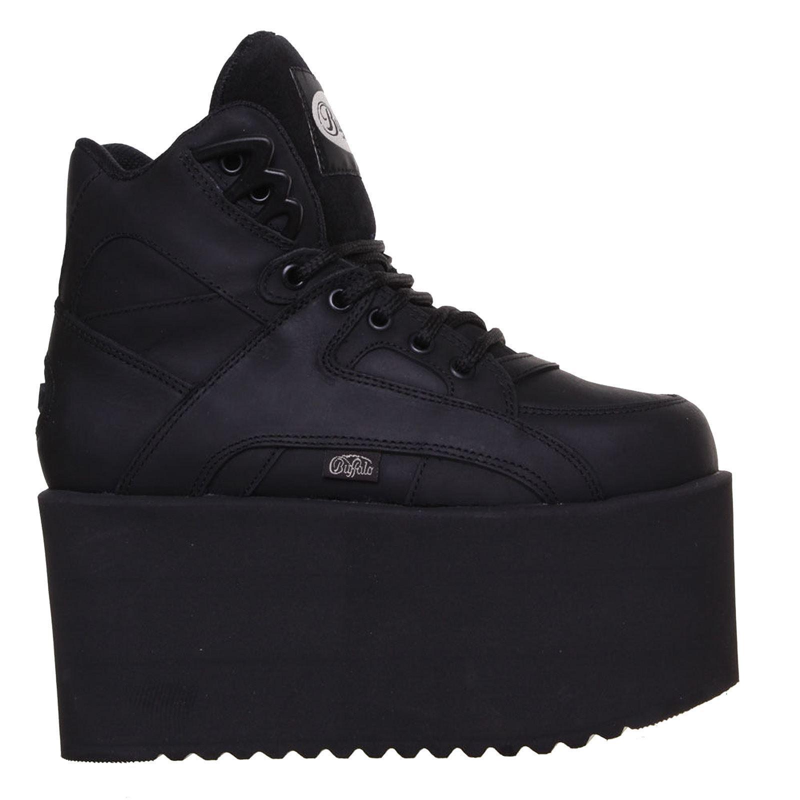 Buffalo 1300-10 Black Womens Boots,Gli stivali da donna classici hanno sono popolari, economici e hanno classici dimensioni 1e30e7