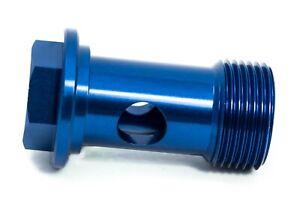 Hohlschraube M22x1,5 Blau