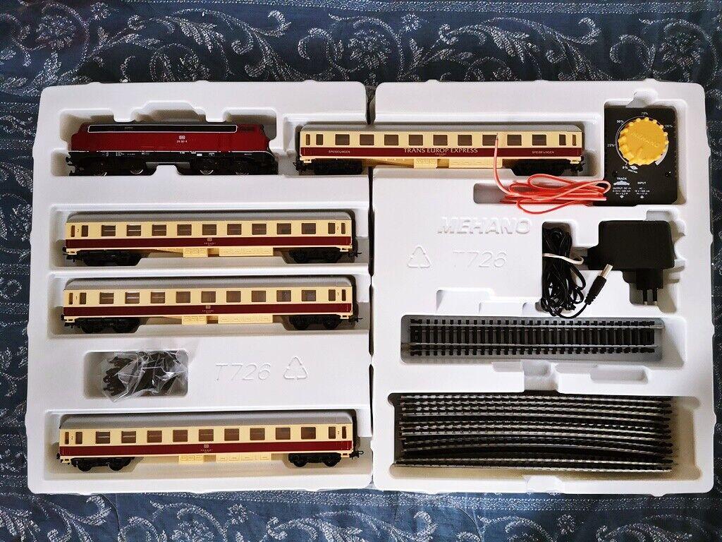 Train Mehano t726 zestaw STARTOWY Euro Special Train Model HO scale stairs