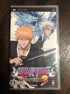 Bleach-Heat-The-Soul-3-Psp-Sony-Playstation-Japan-Import-Complete