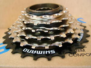 New-Shimano-6-Speed-HyperGlide-HG-Freewheel-with-Silver-Black-Finish-14x28