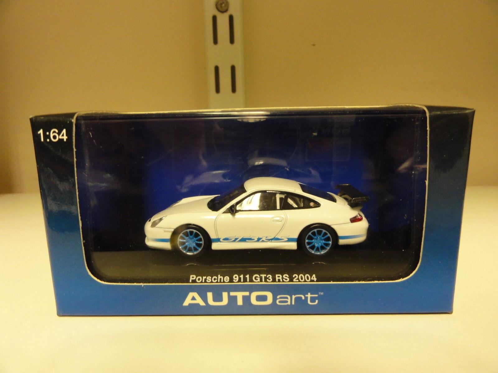 Autoart 1 64 Porsche 911 GT3 RS 2004 bluee White