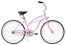 "NEW 26"" Women Beach Cruiser Bicycle Bike Firmstrong Urban Pink"