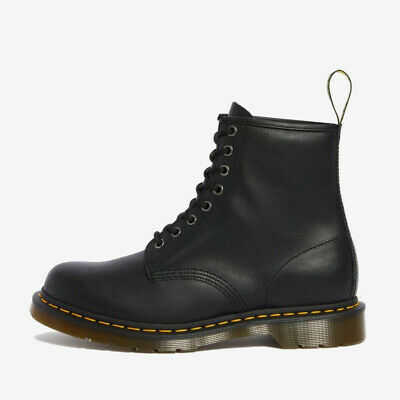 NEW Dr. Martens Men's 1460 Nappa 8 Eye Black Leather Boot Shoes 11822002