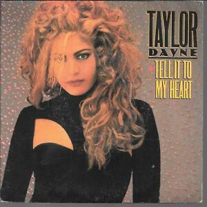 45-TOURS-7-034-SINGLE-TAYLOR-DAYNE-TEL-IT-TO-MY-HEART-INSTRUMENTAL-1987