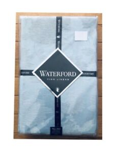 WATERFORD-Fine-Linens-Hydrangea-Oblong-Tablecloths-BLUE-See-Selections-NEW