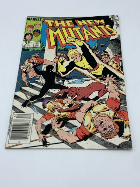 The New Mutants #10 (Dec 1983, Marvel) Good Condition FREE SHIPPING!