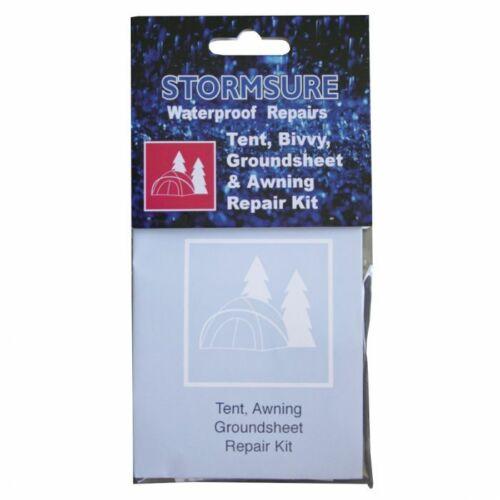 Stormsure Imperméable Kit Réparation Tente Bivouac Tapis De Sol /& auvent camping Clothing