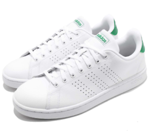 Details about New adidas Neo Advantage White Green Men Casual Lifestyle Shoes Sneakers F36424