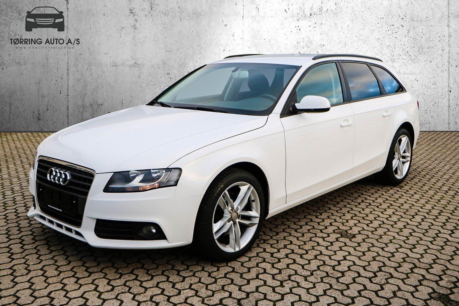 Audi A4 2,0 TFSi 180 Avant Multitr. 5d - 199.900 kr.