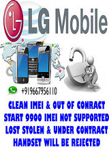 LG parmanent network unlock code for LG E900H Optimus 7  - Tesco UK