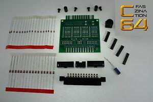 Faszination-C64-Userport-Schutz-fuer-Commodore-64-mit-Reset-BAUSATZ-1804
