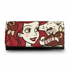 Item 1 Loungefly Ariel True Love Under The Sea Mermaid Disney Fantasy Movie Tri Wallet
