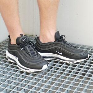 NIKE Air Max 97 Herren Sneaker Schwarz Schuhe,  