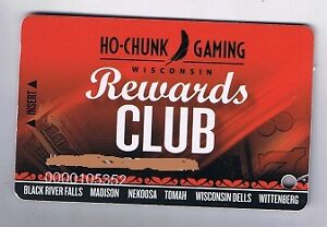 ho chunk casino rewards club