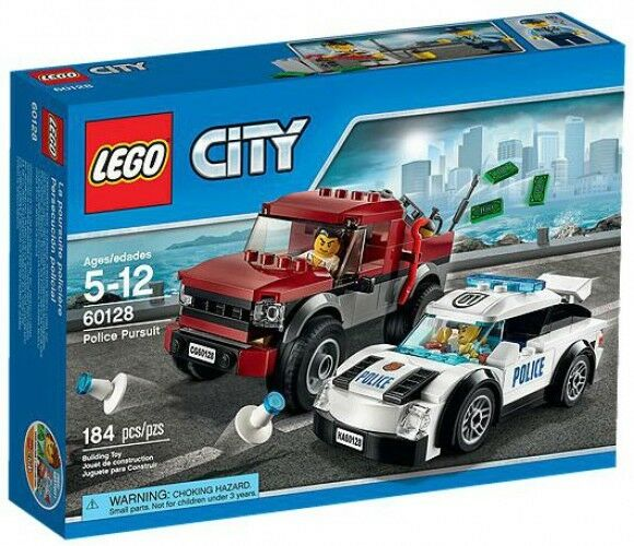 LEGO City Police Pursuit Pursuit Pursuit Set 790af0