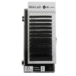 f736beac861 Eyelash Extension Blink Mink D 0.25 Curl 7mm-14mm Mixed Size Tray ...