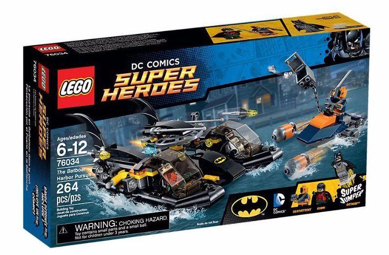 LEGO DC DC DC Comics Super Heroes 76034 The Batboat Harbor Pursuit NEW & Unopened eda7e5