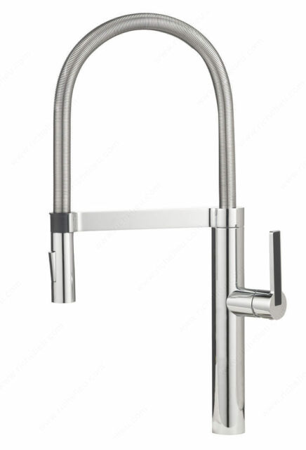 Blanco Rh4827140 Chrome Culina Semi Pro Kitchen Faucet 2 2gpm Flow Rate