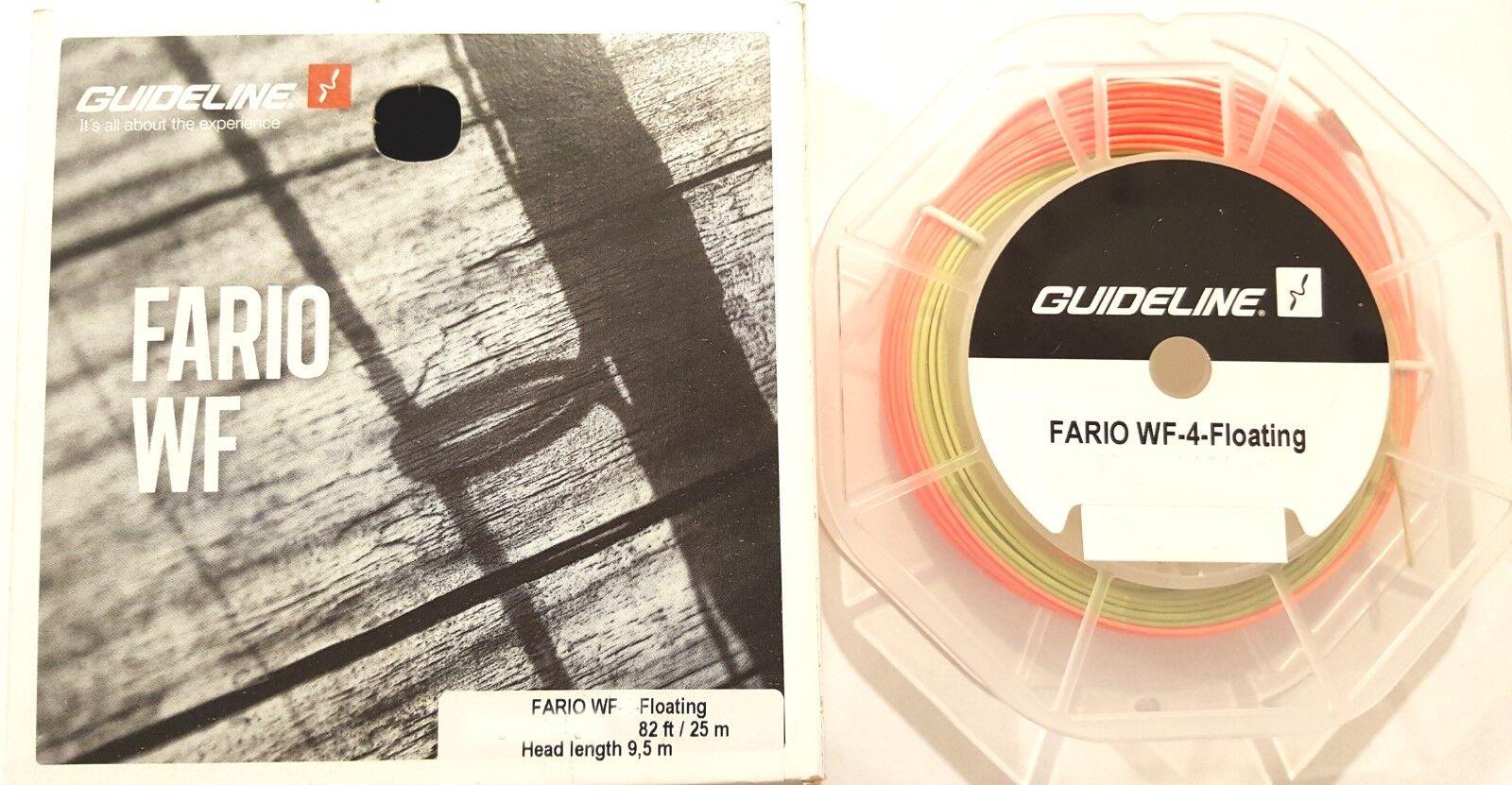 Guideline Fario WF-4-Floating - die optimale Allroundschnur - 9,5-m-Keule - NEU
