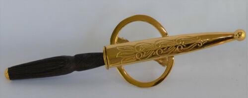 Windlass Barrette Hair Dagger Gold Plated