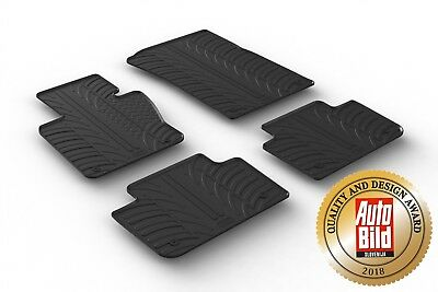 Design Gummimatten für Mazda 5 ab 10//2010 Gummi-Fußmatten mit Clips Automatten