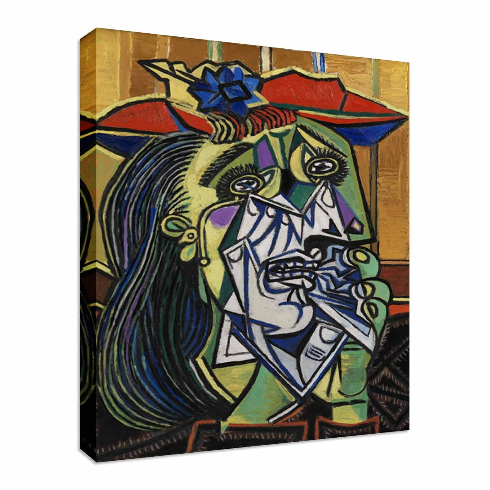 'Weeping Woman', Pablo Picasso Wall Art Canvas Prints Art Cheap