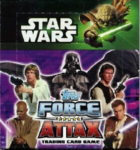 TOPPS STAR WARS MOVIE FORCE ATTAX SERIES  2 RAINBOW FOIL /& MIRROR FOIL CARDS