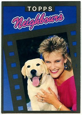It/'s A Dog/'s Life #53 Neighbours Series 1 Topps 1988 Trade Card C1442