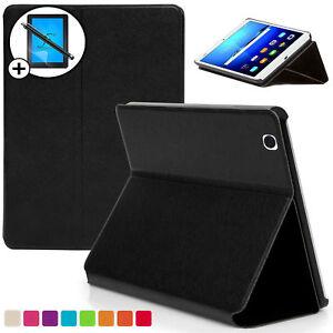 Noir-Housse-Etui-Intelligent-Coque-pour-Huawei-Mediapad-M3-8-4-Sans