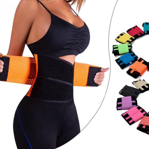 Women Mesh Waist Training Power Belt Sport Gym Fitness Corset Body Shaper