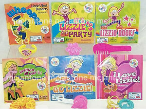 MIP-SET-6-McDonald-039-s-2004-LIZZIE-MCGUIRE-Jewelry-Toy-CD-Complete-HILARY-DUFF