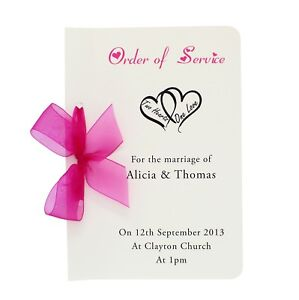 Personalised-Handmade-Wedding-Order-Of-Service-Booklet-Different-colours