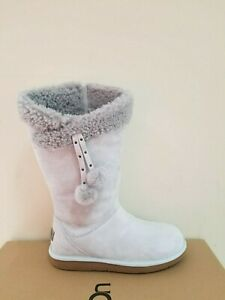 2c85c3f43bd Details about Ugg Australia Women's Plumdale Cuff Shearling Tall Boots Size  8 NIB