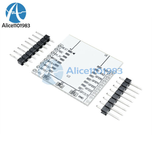 2pcs ESP8266 Serial WIFI Module Adapter Plate for ESP-07 ESP-08 ESP-12