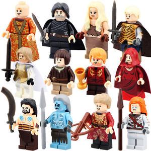 Game Of Thrones Mini Figures Nouveau Vendeur Britannique S'adapte Major Brand Blocs Briques-afficher Le Titre D'origine Tgcan6bi-07171127-776424558