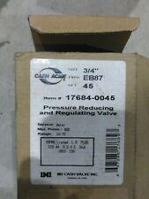 Cash Acme 17684 0045 Eb 75 34 Water Pressure Reducing Valve Brand New
