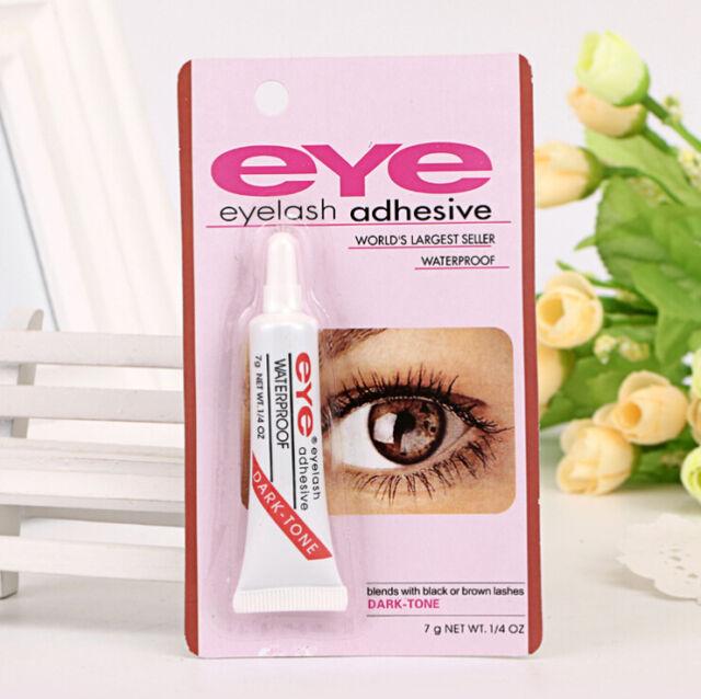 Eyelash Glue Waterproof Adhesive Black Tone Uk Seller Ebay