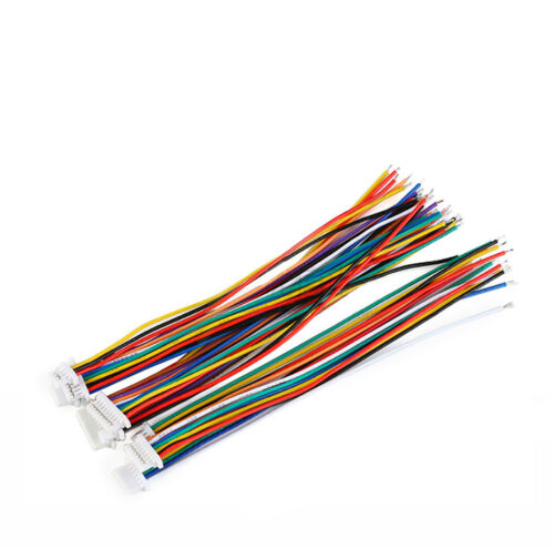 Single//Double Head Electronic Connector Cable 100mm SH1.0mm 2//3//4//5//6//7//8//9//10P