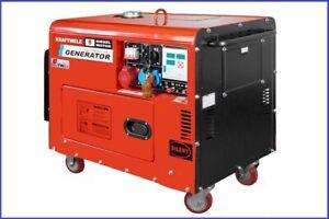 Stromerzeuger-Generator-Agregat-KRAFT-SDG-9800S-ATS-SZR-Garantie
