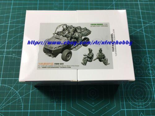 YUFAN 1820 1/35 U.S. Military Driving - All Terrain Vehicle (ATV) w/ 2 Crew