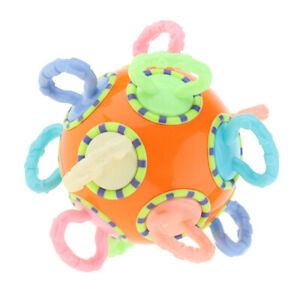 Baby-Teether-Ball-Music-Bell-Rattle-Teething-Toy-Massage-Dental-Tooth